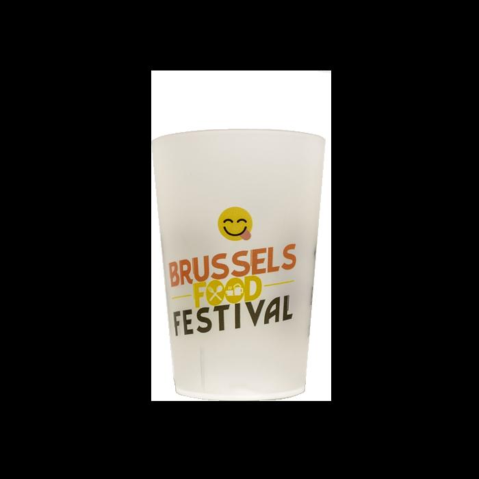 brussel2 - Gobelet réutilisable et personnalisé GOBELETCUP®