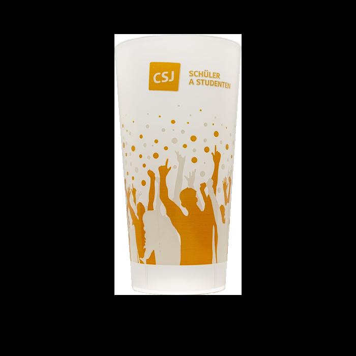 csj - Gobelet réutilisable et personnalisé GOBELETCUP®