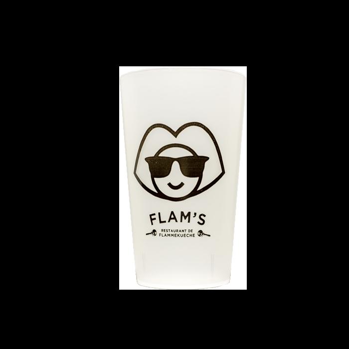 flam - Gobelet réutilisable et personnalisé GOBELETCUP®